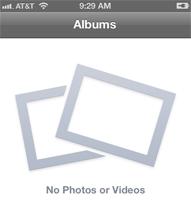 Album - No Photos or Videos