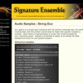 Signature Ensemble