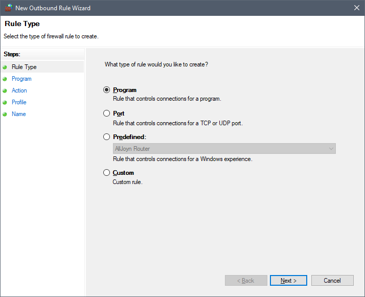 Block Application Advertisements with Windows Firewall   g fisk