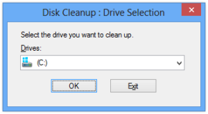 Disk Cleanup - Drive