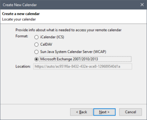 Exchange EWS Provider - Name & Email - Microsoft Exchange