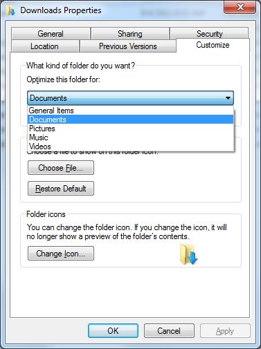 Downloads Folder - Optimize Documents
