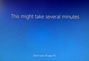 Fresh Start - Re-install Windows