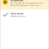 Premium Ad - OneDrive