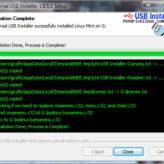 Linux Mint USB Install