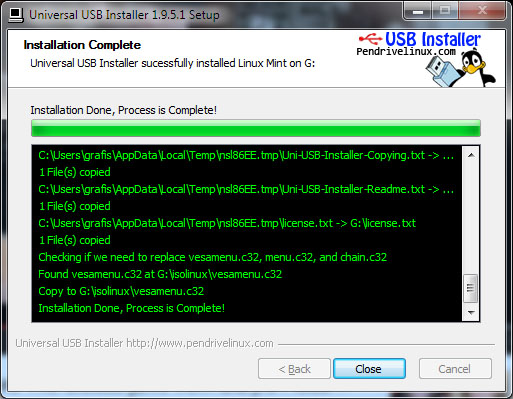 Install Linux from USB Drive | g fisk