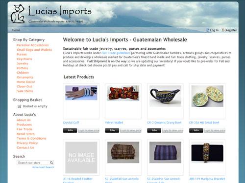 Lucia's Imports - Guatemalan Wholesale