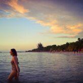 Nancy Sunset WhiteSands Beach