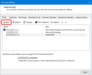 Outlook - Add Gmail