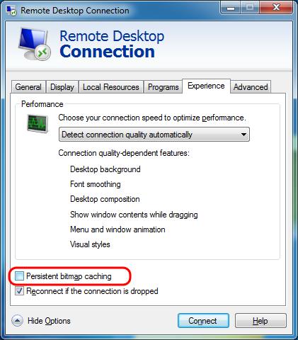 Remote Desktop Black Screen