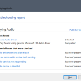Realtek - Sound Troubleshooter