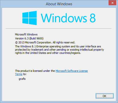 Windows 8.1 - Update 1