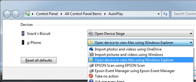Windows Phone – AutoPlay | g fisk