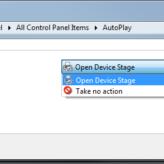 Windows Phone - AutoPlay Settings