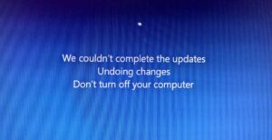 Windows Update - Undoing Changes