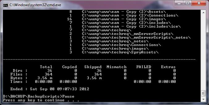Windows7 Backup