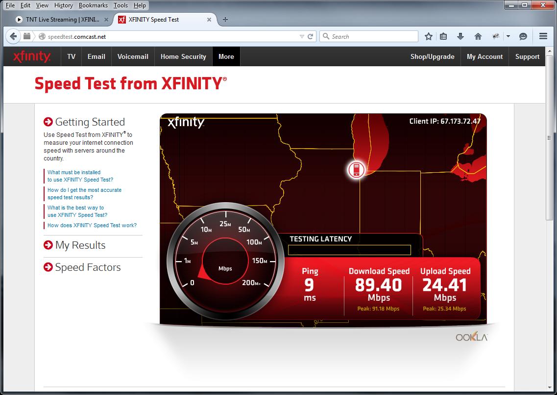 Comcast Xfinity  blazing speed doesnt matter