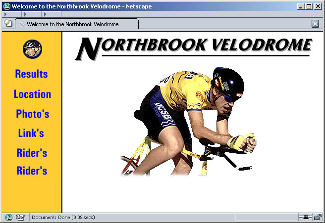Northbrook Velodrome - 1997