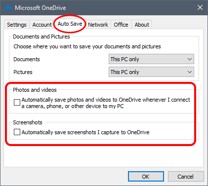 OneDrive – Stop Auto Importing Photos | g fisk