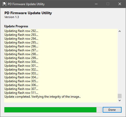Lenovo Yoga PD Firmware Update Failure – CCG4 Two-Port USB C