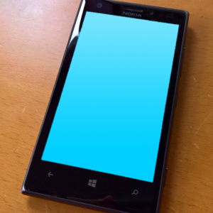 Windows Phone - blue screen of death
